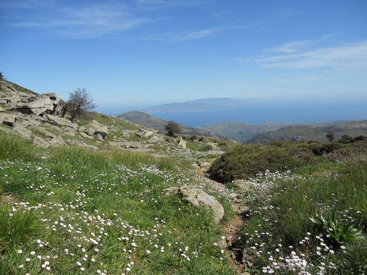 Wanderweg auf den Mount Ochi