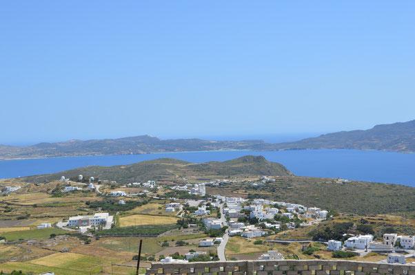 Aussicht vom Kastro-Hügel