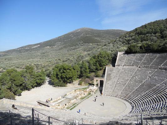 Amphitheater, Epidavros, Peloponnese