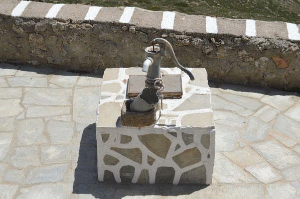 Der Brunnen funktioniert nicht mehr