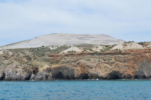 Mine des Fyriplaka-Vulkans