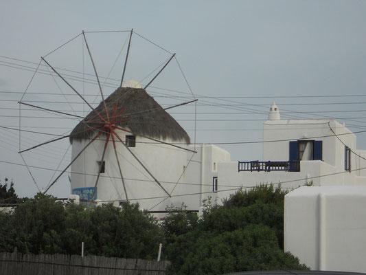 Windmühle in der Chora
