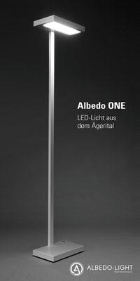 Werbeflyer für eine LED-Leuchte