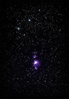 M42 Orion-Nebel  |  60 Lightframes  |  3 Darkframes  |  3 Offsetframes