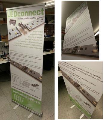 Produktwerbung auf einem RollUp 200x80cm (im Auftrag meines Arbeitgebers)