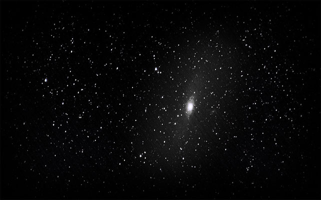 M31 Adromeda-Galaxie  |  80 Lightframes  |  4 Darkframes  |  4 Offsetframes