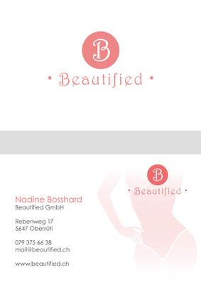 Visitenkarte für einen Beautysalon