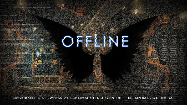 Offline-Screen für einen Twitch-Streamer