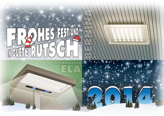 Weihnachtskarte 2013 für unsere Kunden (im Auftrag meines Arbeitgebers)