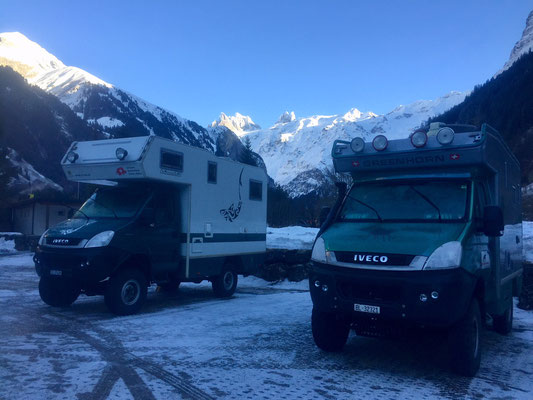 Hagis on Tour Iveco 4x4 Greenhorn