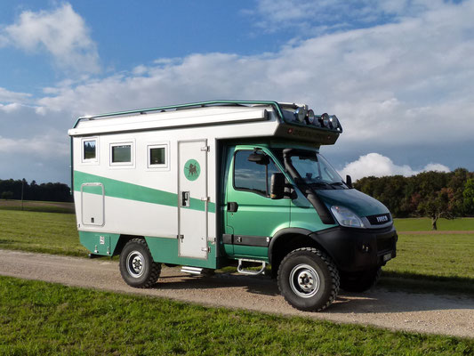 Iveco 4x4 Hagis on Tour