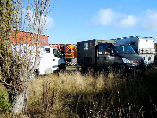 Iveco 4x4 an Willys Fernreisemobil Treffen