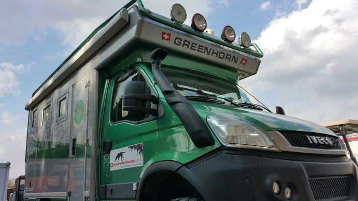 Iveco 4x4 Greenhorn, Foto von Postermanufaktur Junglas Design Meissenheim