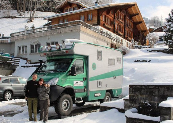Hagis on Tour Iveco 4x4 Expeditionsmobil Greenhorn