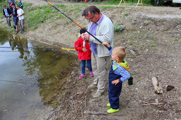 Jugend Angeln in Fischamend