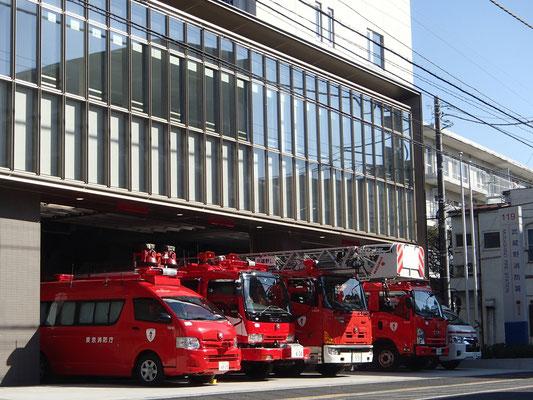 武蔵野消防署本庁舎新築電気設備工事
