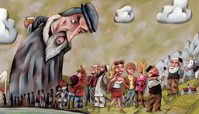 L'Hebdo. L'année Calvin ©2010