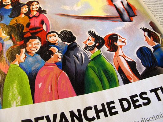 L'Hebdo. La revanche des timides. ©2012