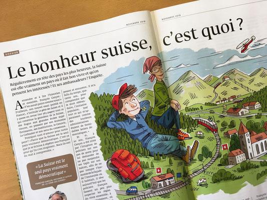 Générations - Kormann,  Le bonheur suisse, © 2018