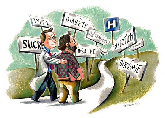 Le Temps - Les illettrés de la santé. ©2012