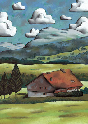 La ferme à Sâles ©2008