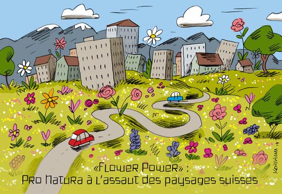 ProNatura Magazine. Rubrique Cartoon. © Kormann 2014