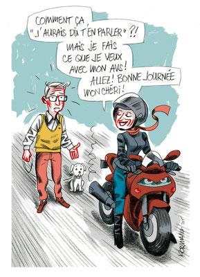 Générations - Kormann,  Le couple et les questions d'argent, ©2015