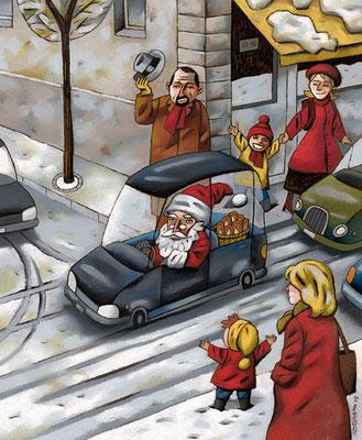 Migros Magazine. Conte de Noël. ©2005