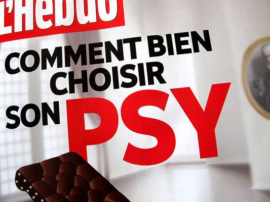 L'Hebdo. Comment bien choisir son psy. ©2012
