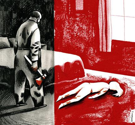 Le Temps - Un père infanticide. ©2012