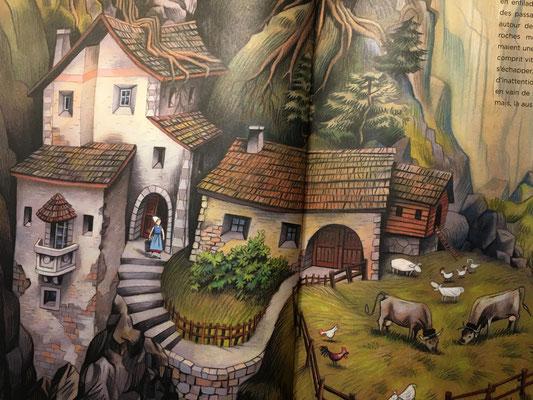 Mon grand livre de contes et légendes suisses, Livre 2 - ©Kormann, Helvetiq 2018