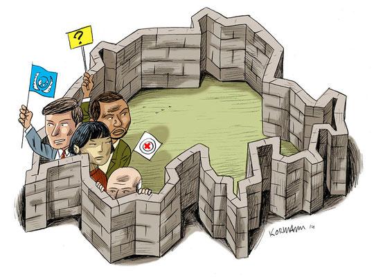 Le Temps-Votation du 9 février, la peur de la Genève internationale. ©2014