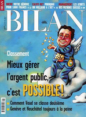 Bilan, spécial finances cantonales. ©2006
