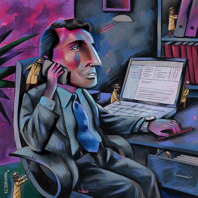 Le Temps - L'espionnage commercial et industriel. ©2012
