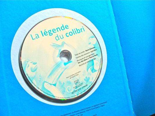 La légende du colibri. © Actes-Sud, Denis Kormann. 2013