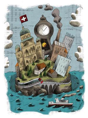 Le Temps - Dossier fonds de placement. ©2010