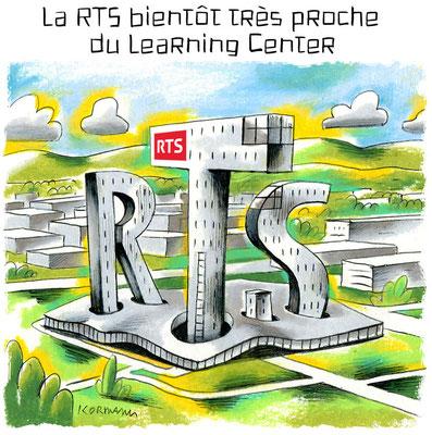 RTSMag. Rubrique Clin d'Oeil. © Kormann 2014