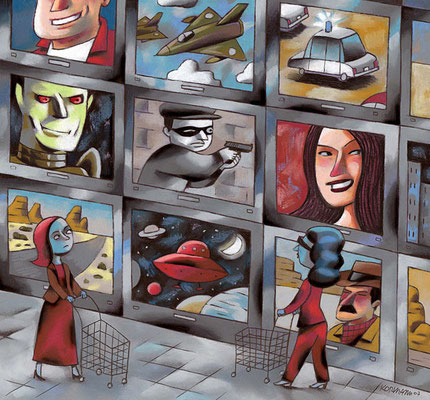 TV8. Le shopping des nouvelles séries. ©2007