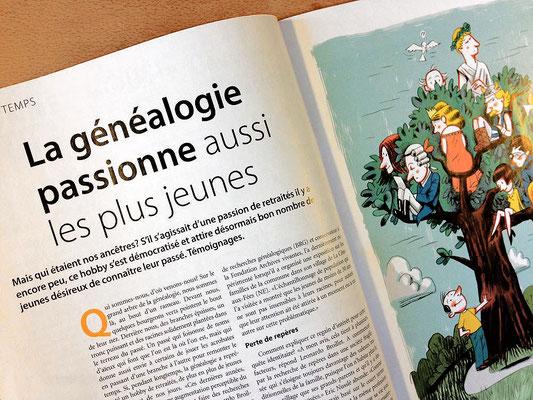 Générations - Kormann, La généalogie passionne, ©2015