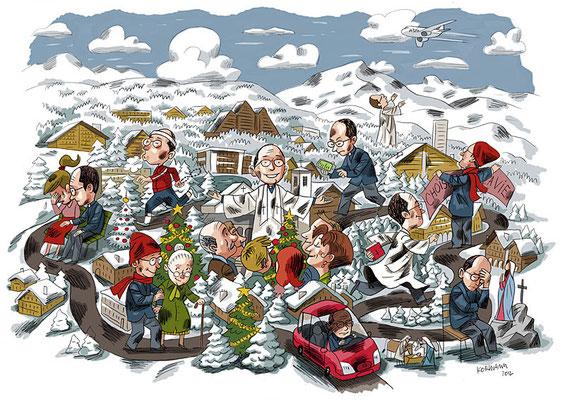 Le Temps - Le journal d'un curé de montagne. ©2012