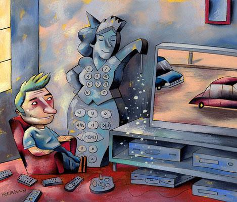 TV8. La télécommande magique. ©2008