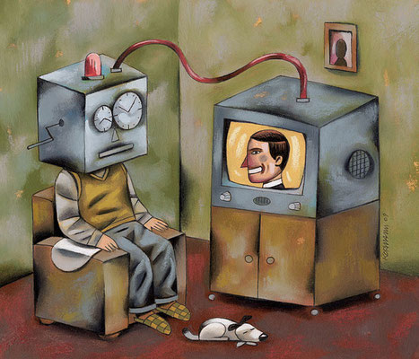 TV8. L'audimat. ©2009