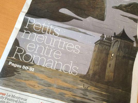 Le Matin Dimanche / Kormann ©2016