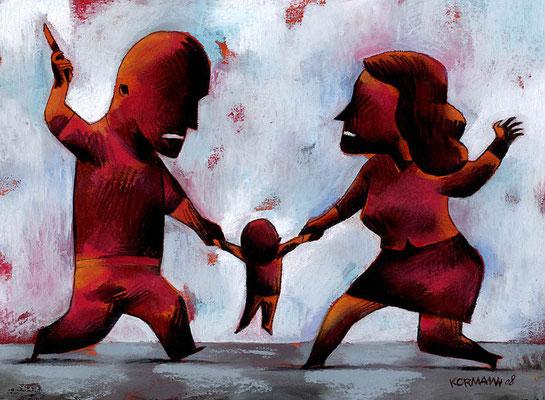 Le Temps - Procès autour d'un infanticide à Fribourg. ©2008
