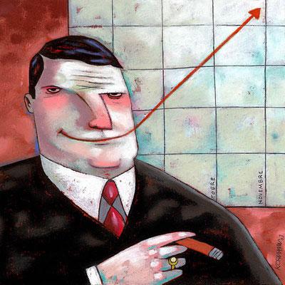 Le Temps - Les financiers retrouvent le sourire. ©2003
