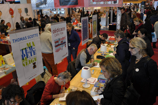 Salon du livre de Paris, stand Actes-Sud.