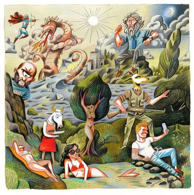 Le Temps - Série d'été - Les classiques latins. ©2015