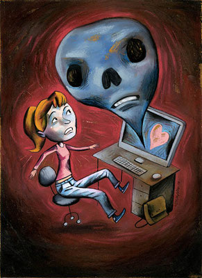 L'Hebdo. Les ados en ligne. ©2010