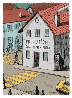 Générations - Kormann,  Les prestations complémentaires, ©2016