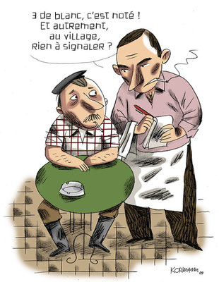 Le Temps - Les correspondants locaux dans la presse. ©2009